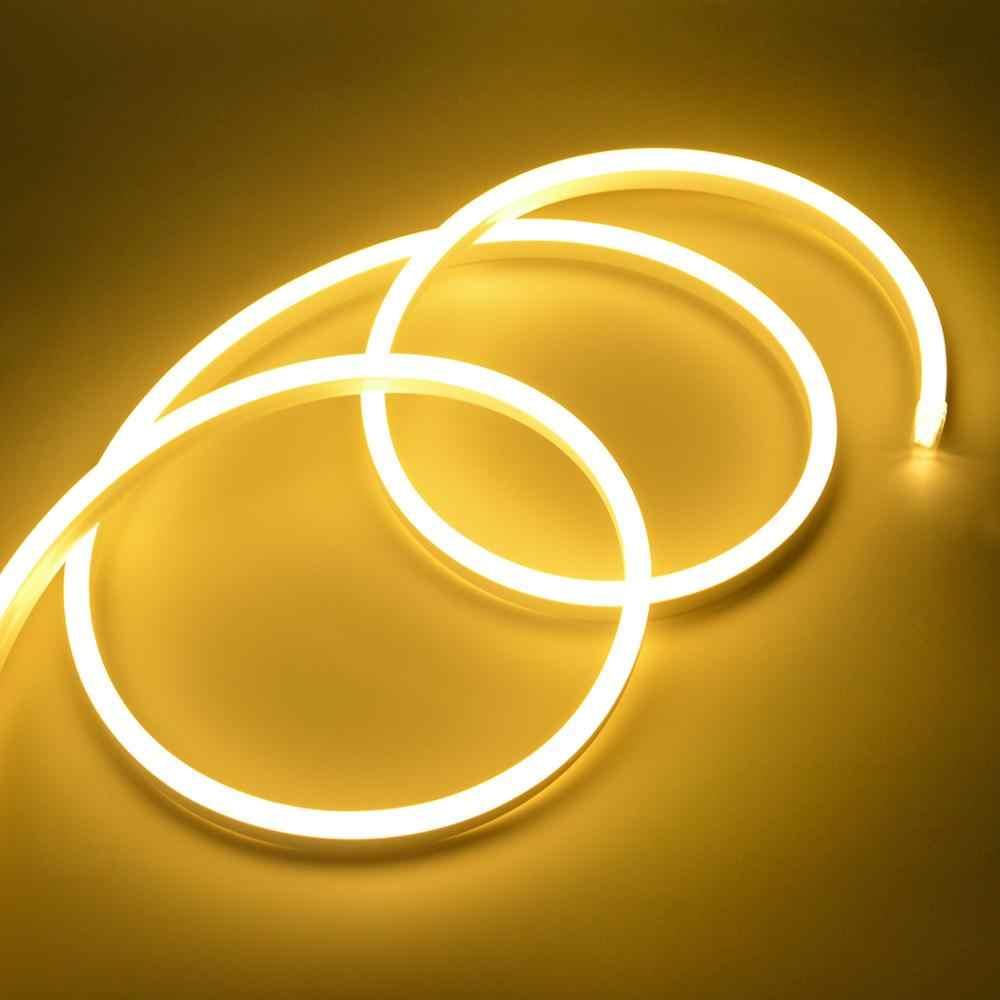 ЕС вилка 220 В кухонная лампа 1 м-10 м водонепроницаемый светодиодный светильник для шкафа шкаф для гостиной подсветка домашнего освещения
