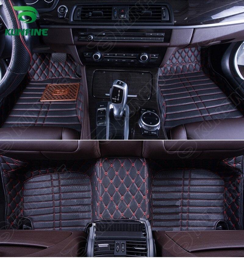 Top qualité 3D voiture tapis de sol pour HYUNDAI ACCENT pied tapis voiture pied pad 4 couleurs gauche main pilote livraison directe