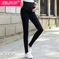 Primavera e no outono as mulheres grávidas Leggings maternidade solta calças calças lápis