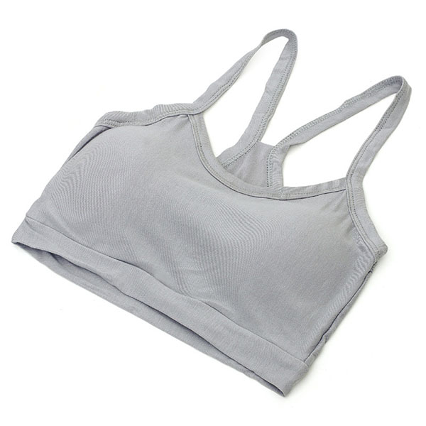 Lady Tank Tops Active Bras Women Modal Cotton Stretch Strap Wrap Chest Crop Underwear Terno De Homem