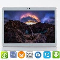Бесплатная доставка S119 Google 10,1 дюймов Оригинальный 3g/4G Телефонный звонок Android 8,0 Octa Core ips Tablet Pc 8mp MT6753 мини компьютер