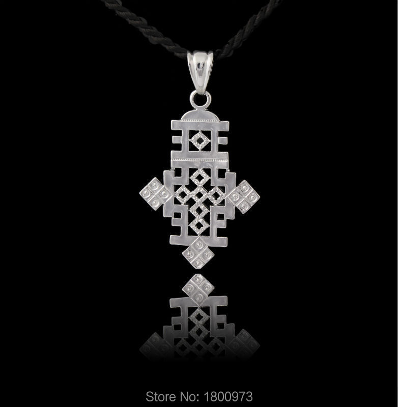 New Arrival Ethiopian Cross Pendant silver plated Fashion Jewelry wedding for african wedding Pendant Free shipping Детская кроватка