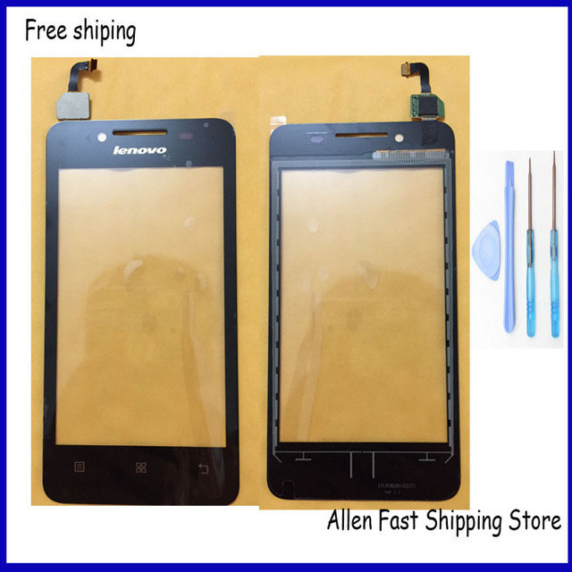 4.5 inch Original Touch Panel Touch Screen Digitizer For Lenovo A319 Touch Screen + Tools +3M Glue Adhensive