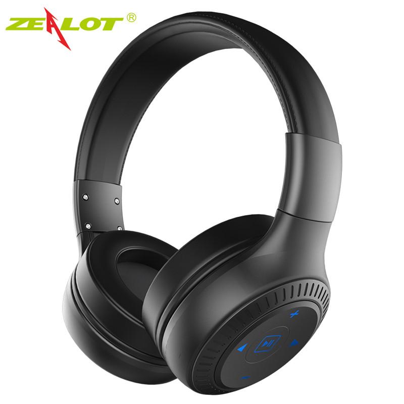 Original-ZEALOT-B20-On-Ear-Wireless-Bluetooth-Headphones-with-HD-Sound-Bass-stereo-headphone-with-Mic