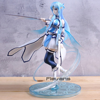 SAO Sword Art Online Ordinal Scale Yuuki Asuna 1/7 Scale PVC Figure Collection Model Toy