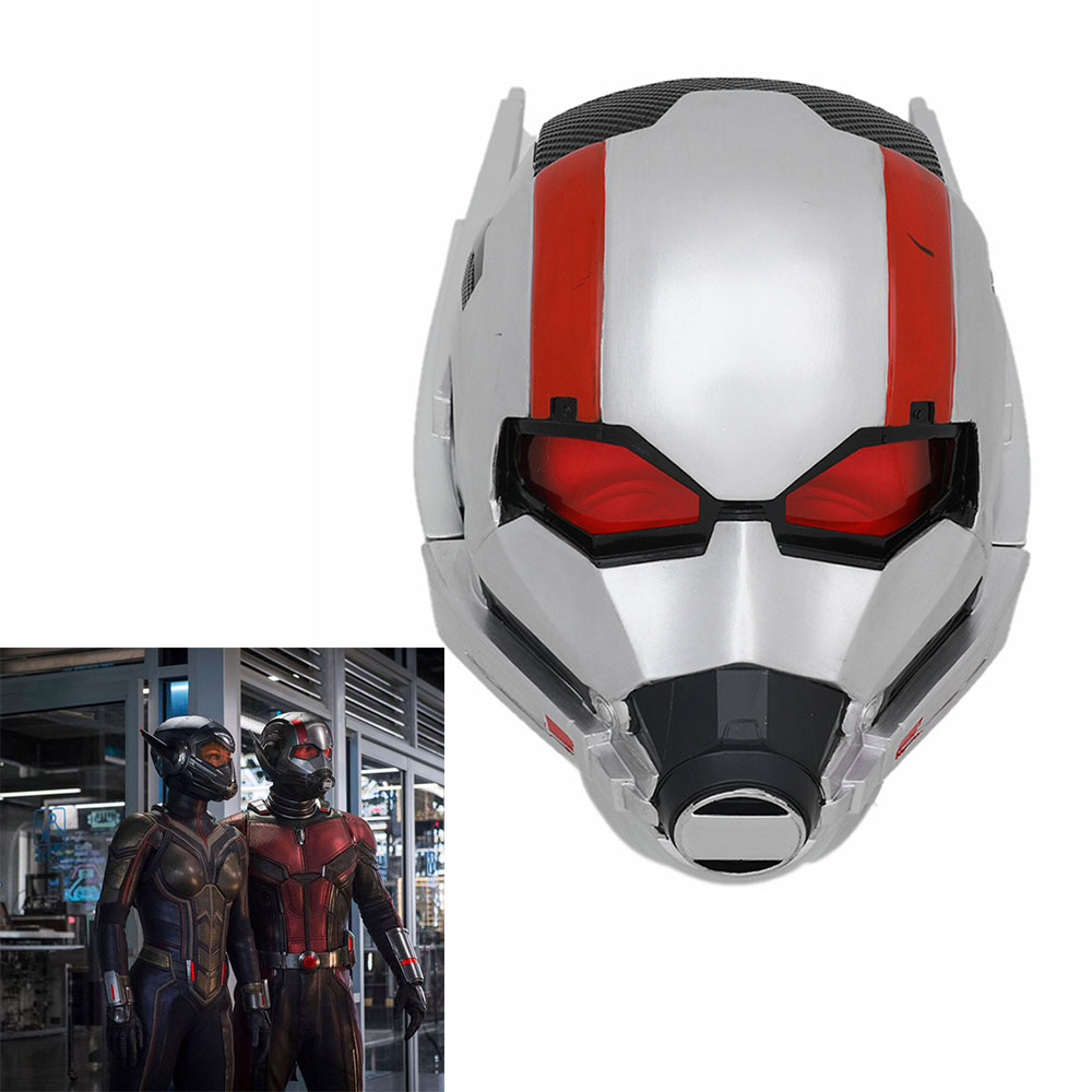 New Cosplay Movie Ant Man Helmet Halloween Party Mask Resin Gift Decoration