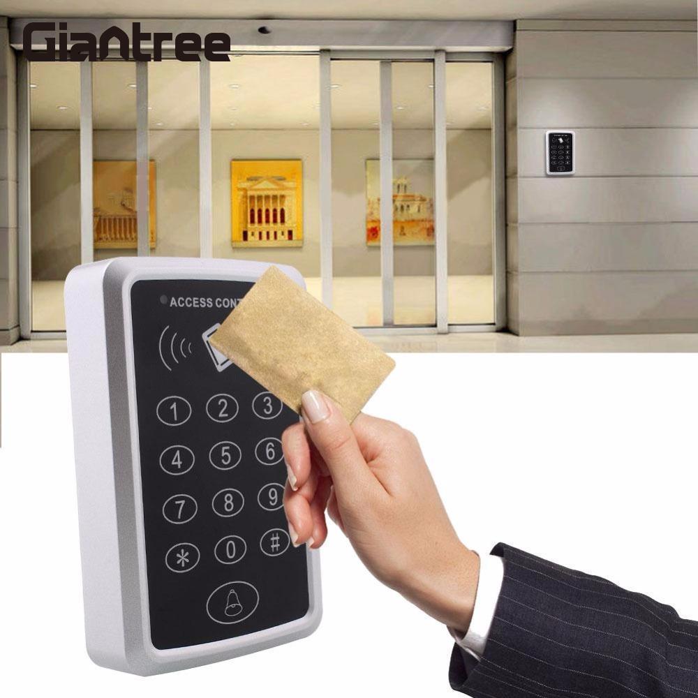 Giantree 12 V Kartu Rfid Reader Pintu Keypad Mini Sistem Kontrol Karturfid Akses Proximity Id Em Pembuka