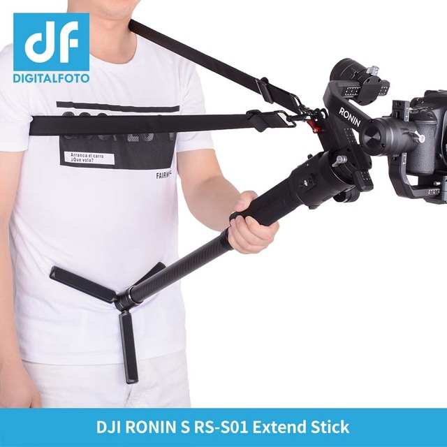DF DIGITALFOTO RS ST01 DJI Ronin S Accessory Gimbal Accessories 3 Axis Gimbal stabilizer hand release shoulder strap belt