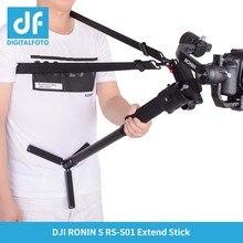 DF DIGITALFOTO RS ST01 DJI Ronin S accesorio cardán accesorios 3 ejes cardán estabilizador mano liberación correa de hombro cinturón