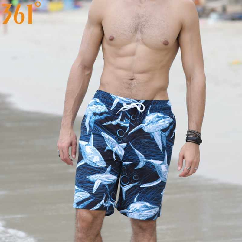 b316aa8758 ... 361 Board Shorts Quick Dry Surf Pants Men Beach Shorts Plus Size M-3XL  Plus ...