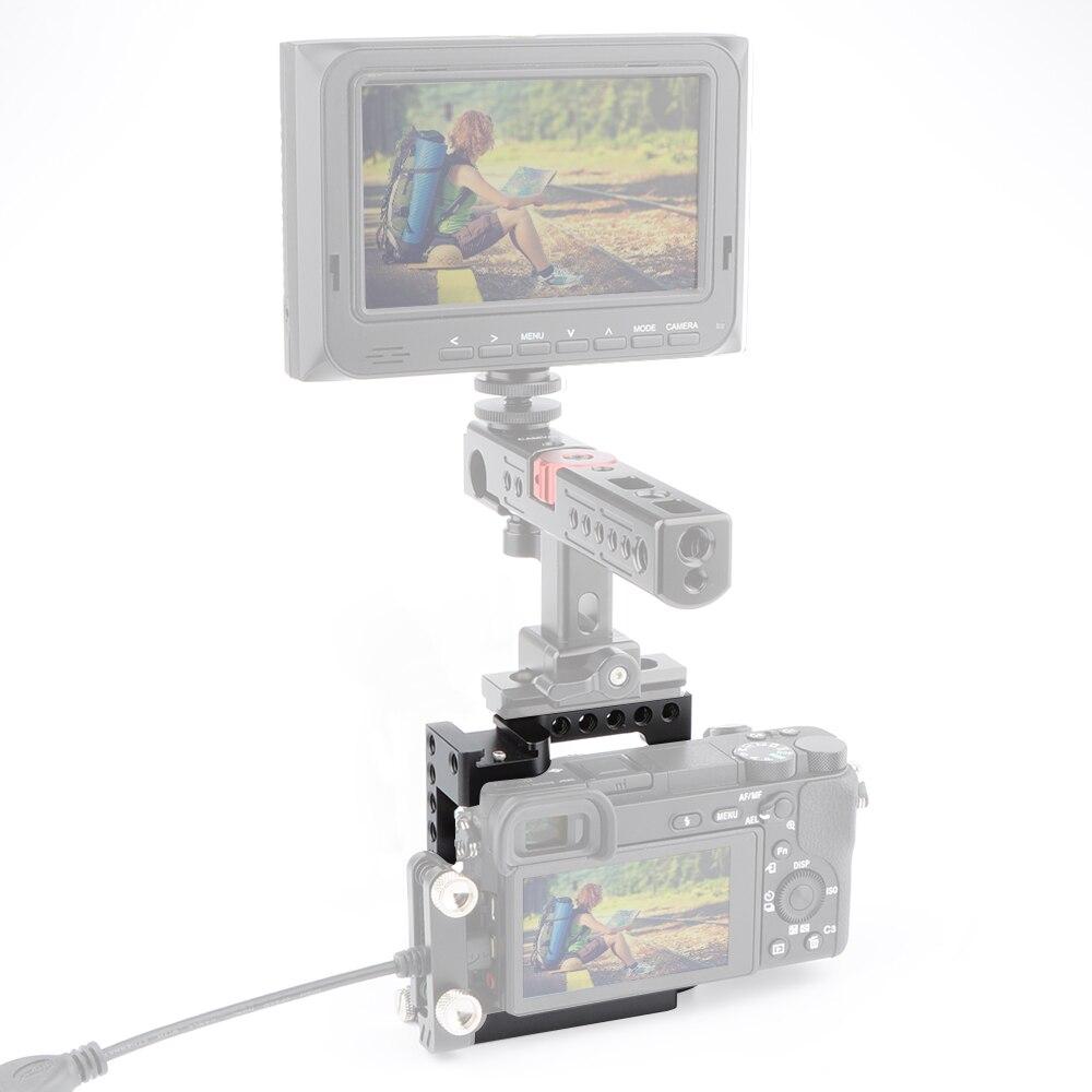 CAMVATE kaitsev videokaamera puur A6500 NEX7 DSLR stabilisaatori - Kaamera ja foto - Foto 6