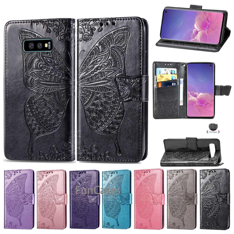 S10E Case For Samsung Galaxy S10 lite Case Leather Wallet Phone Case Samsung Galaxy S10E Case Luxury Flip Leather Cover Coque