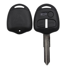 maizhi 3 Buttons Car Key Shell Case Cover for Mitsubishi Pajero Sport Outlander Grandis ASX Remote Left Blade Styling