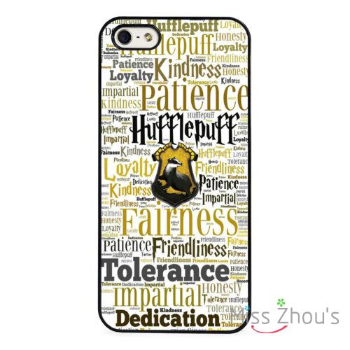 sale retailer 52ec6 dd285 US $3.89 |Hufflepuff Hogwarts Harry Potter back skins mobile cellphone  cases cover for iphone 4/4s 5/5s 5c SE 6/6s plus ipod touch 4/5/6 on ...