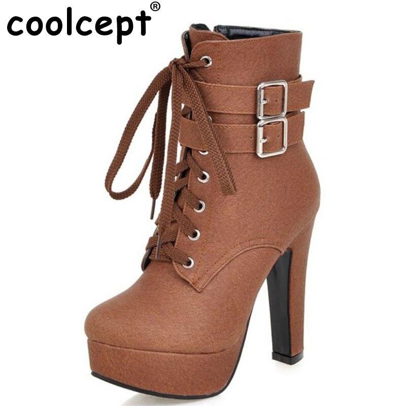 NEW Fashion Women font b Boots b font 2017 High Heels Ankle font b Boots b