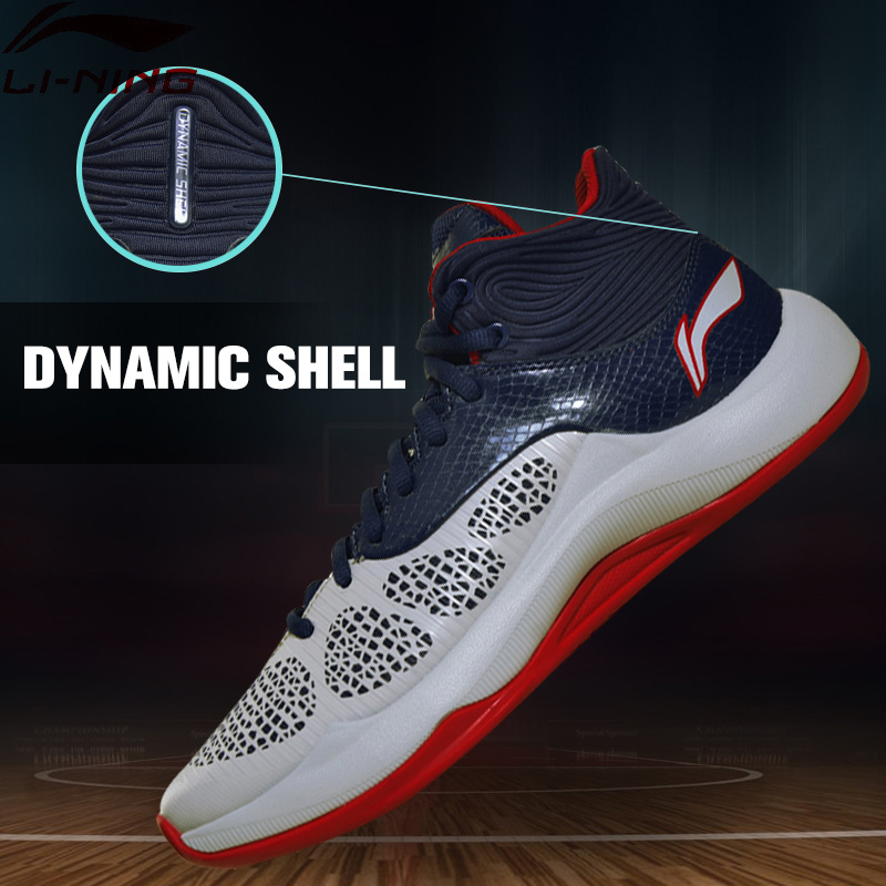 Li-Ning Men SONIC V TD Basketball Shoes Cushion Sneakers Culture Performance Breathable LiNing Sports Shoes ABPM005 XYL098 li ning men s fission iii wade professional basketball shoes lining cloud sneakers breathable sports shoes abam025 xyl109