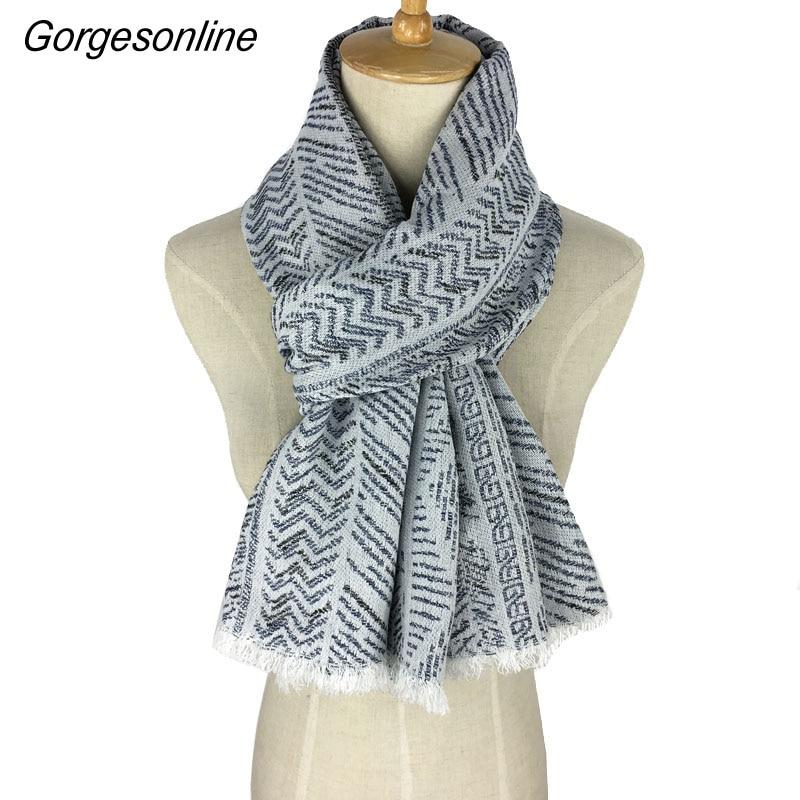 Wholesale Branded Long Fringe Shawl Cotton Jacquard   Scarf     Wrap   Pashmina Unisex Yarn-Dyed Weaving   Scarf
