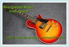 """""""Custom Shop Chinesischen Musikinstrumente Top Bindung LP Custom Gitarre Körper Klassische Benutzerdefinierte Gitarre Lefty lager"""""""