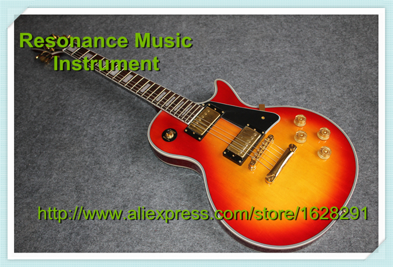 Custom Shop Chinese Musical Instruments Top Binding LP Custom Guitar Body Classical Custom Guitar Lefty Available