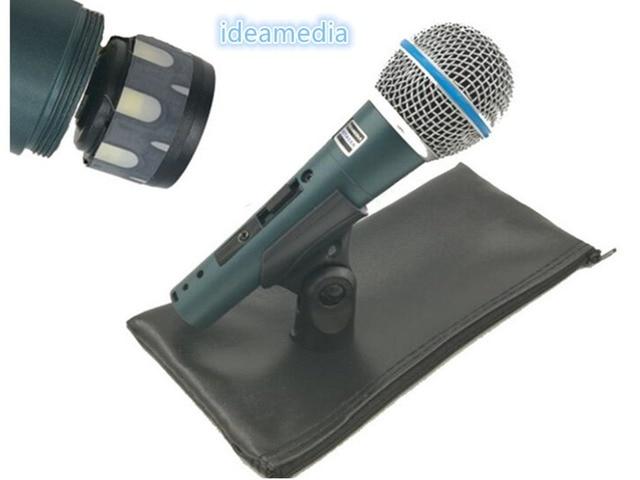 High Quality Version Beta 58a Vocal Karaoke Handheld Dynamic Wired Microphone BETA58 Microfone Mike Beta 58 A Mic