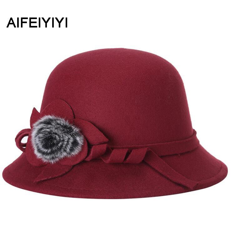 2018 осень и зима новый корейский версия шерсть шляпа моды шапка мода холодной теплая шапка