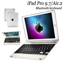Creative Ipad Pro 9.7 Air 2 Clavier Bluetooth Smart IPad Pro 9.7 Air 2 Keyboard Case ABS Stand (ColorBlackSilverGoldRose Gold)