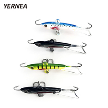 Yernea 4pcs/lot 6 cm Winter Fishing Lure Ice Jig Bait Carp hooks Lead Hard Baits Tackle Lures