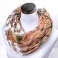 Леди бесконечность шарф горох осень зима накидка геометрический женщины крестики петля шарф женское шаль аксессуары подарок