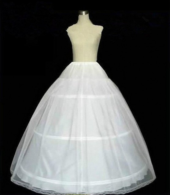 2016 New Fashion Wedding Petticoats For A-Line Wedding Dresses Bridal Slip Underskirt Crinoline White Wedding Accessories