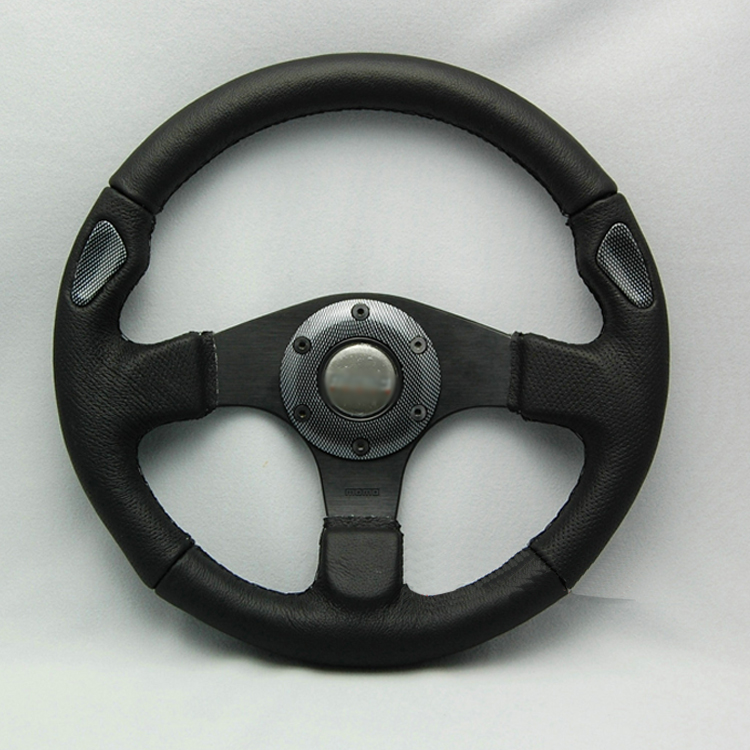 Universal Fits Racing Sport 13007/320mm Suede Deep Dish Alloy Steering Wheel 320mm steering wheel 630mm rack