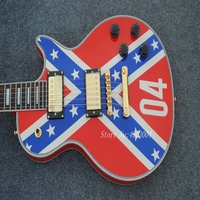 New stores China OEM firehawk electric guitar free shipping The national flag free shipping