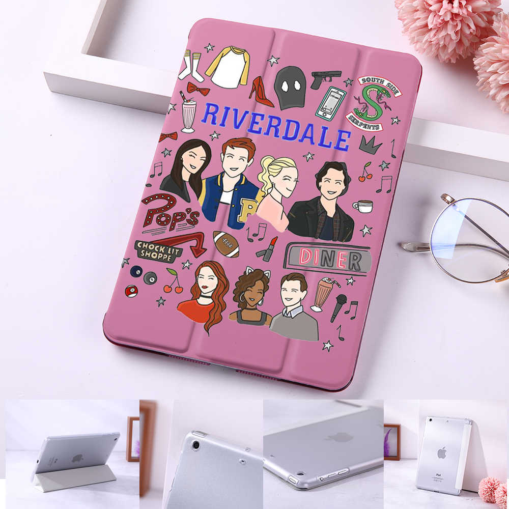 American TV Series Riverdale Betty and Veronica FriendshipStand Cover Smart Sleep&Wake up Flip Magnet Case for iPad Mini 2 3 4 5