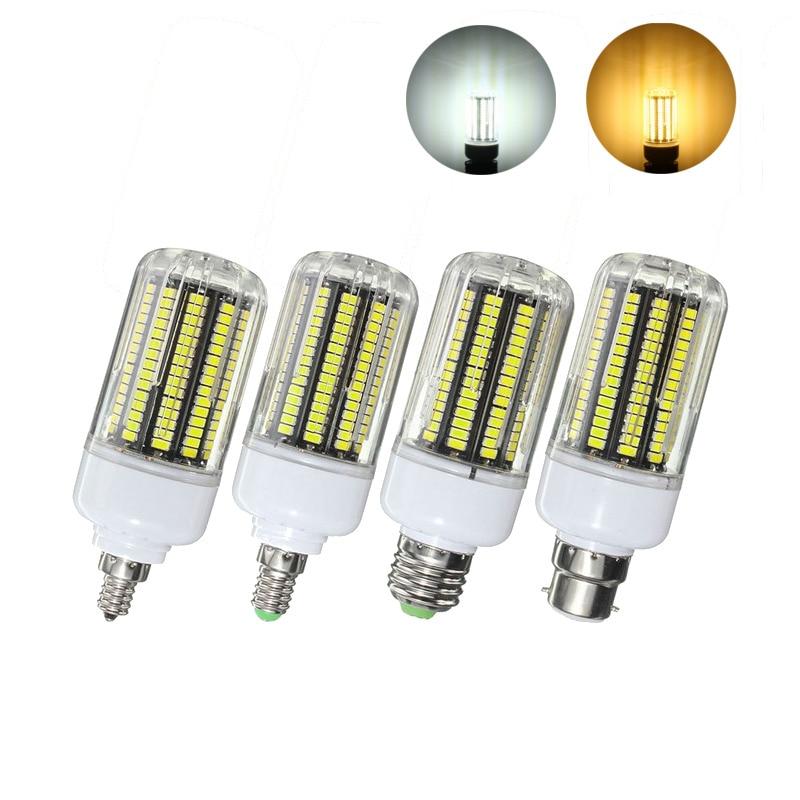 Lowest Price 15W 5730SMD 170 LED Lamp Bulb E27/E14/E12/B22 Fire Cover Corn LED Light Bulb Light 220V Chandelier Lights Lighting