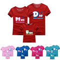 Mom Dad Baby Family T Shirts Family Look Boy And Mother Clothing Cotton Family Matching Sports Clothes Family Warm Outfits