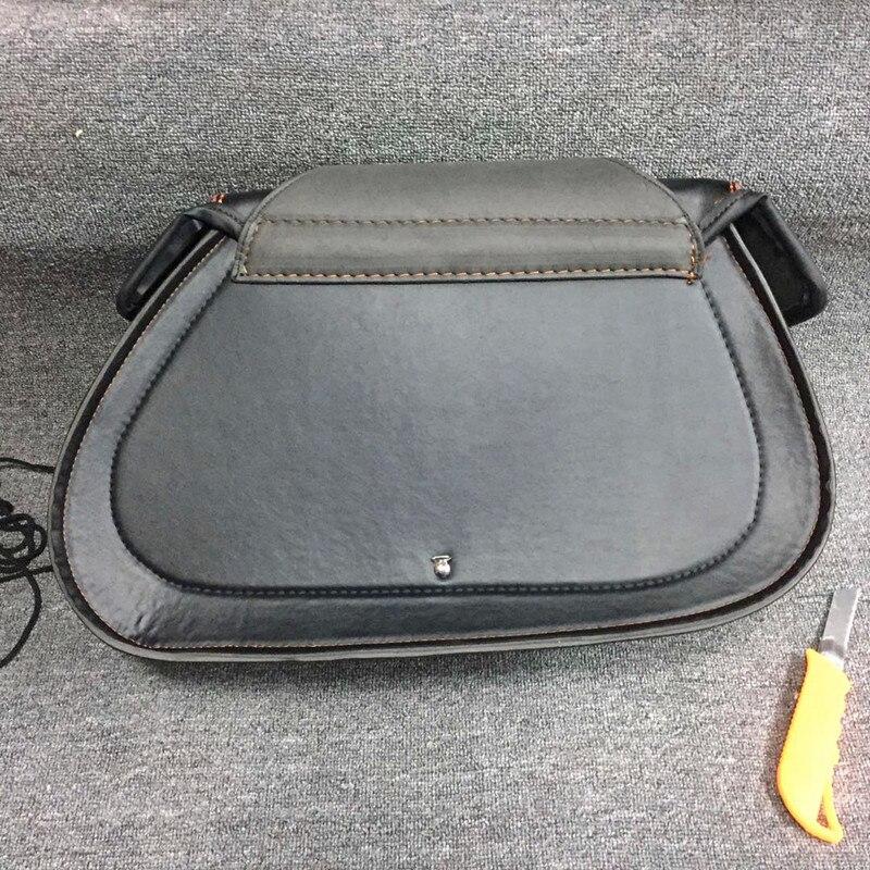 Motorcycle Refit Bag PU Saddle Bag Kit Front Pack FOR Cruise Prince Car Hanging Bag