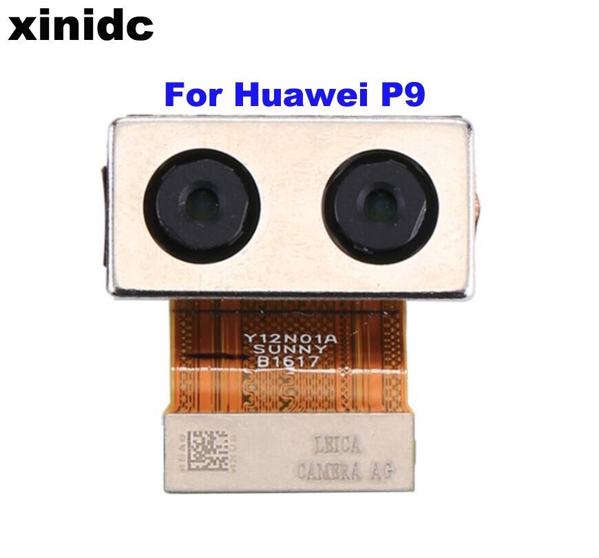 Xinidc 5pcs For Huawei P9 Back Rear Main Back Camera Module Repair Parts
