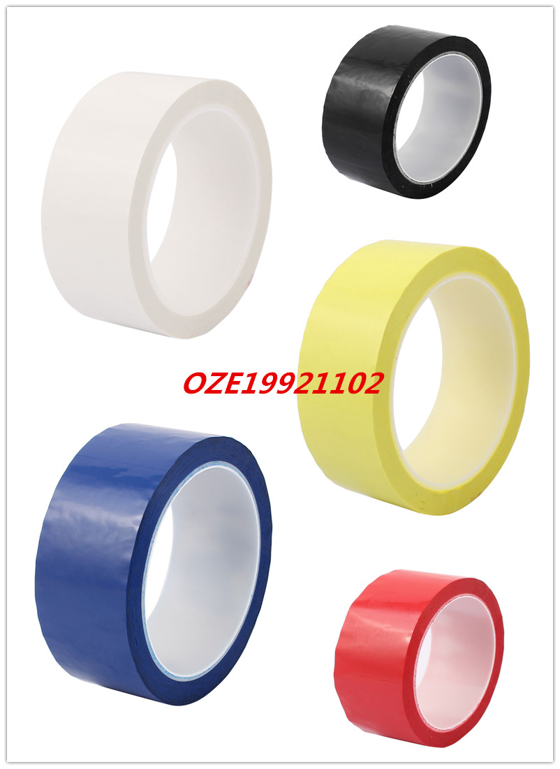 1pcs 40mm Single Sided Strong Self Adhesive Mylar Tape 50M Length 2pcs 2 5x 1cm single sided self adhesive shockproof sponge foam tape 2m length