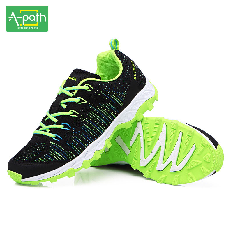 Outdoor Men Women Lovers Hiking Male Sport Shoes Sneakers Athletic Mountain Shoes Sporting Goods Speedcross Top Quality 2017 2017 women hiking sneakers shose lace up low cut sport shoes breathable hiking shoes women athletic outdoor shoes quick drying