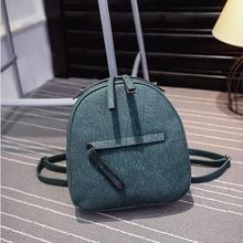 Винтажные дизайнерские женские кожаный рюкзак мини-рюкзак из искусственной кожи Back Pack рюкзаки для девочек-подростков рюкзак сумка