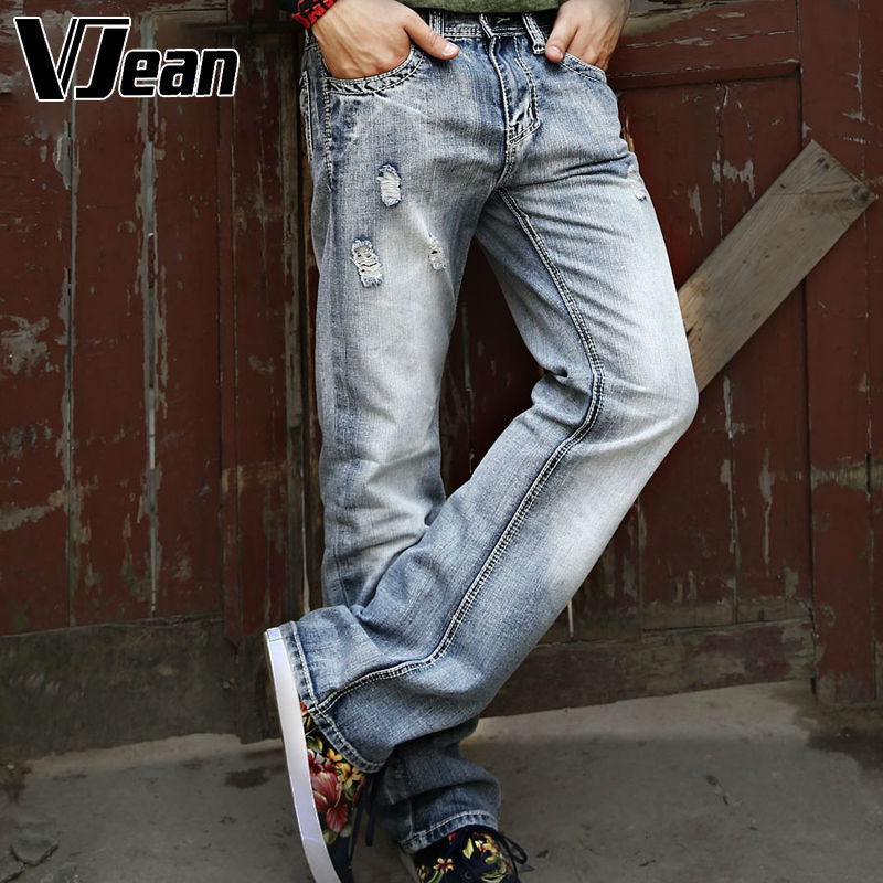 V JEAN  Men's Vintage Relaxed Boot cut Jean #2C110 jean paul gaultier vintage двубортное пальто