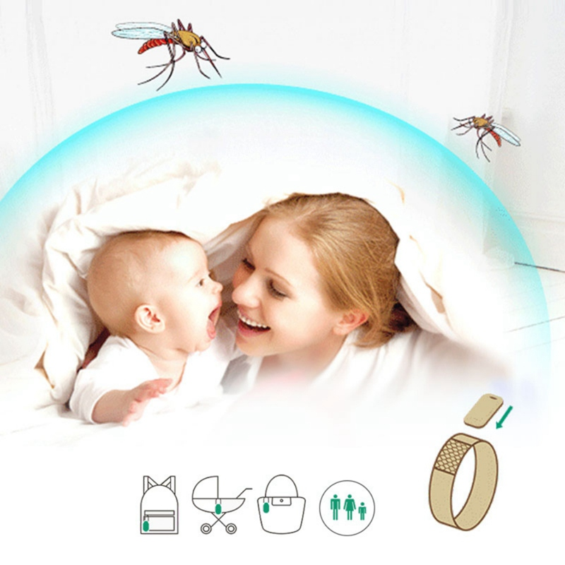 Mosquito Repellent Bracelet Non Toxic Travel Insect Repellent Safe Free Band Repellent Tablets Protection Outdoor camping tools in Moth Balls Bars from Home Garden