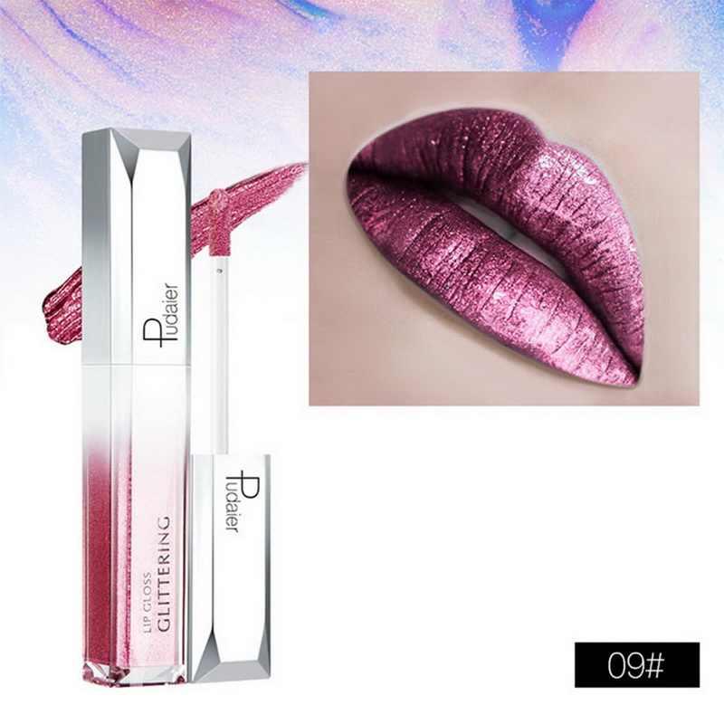 Stock Clearance!!! Matte Shimmer Lipstick Set Glitter Liquid Lipstick Waterproof Long Lasting Lip Tint Makeup Professional Lip