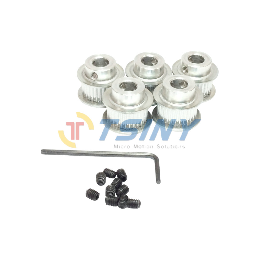 htd gt2 aluminum alloy 2gt type 32 teeth bore 5mm 6 35mm 8mm 10mm timing belt pulley fit for 9mm