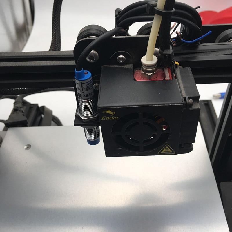 CR-10/Tornado 3D Printer Metal Aluminum Auto Leveling Mount LJ12A3-4-Z/BX Inductive Proximity Sensor Bracket