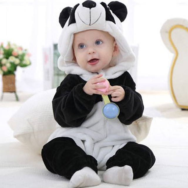 66d8fa7e4 Imported baby winter clothes Toddler Newborn Baby Boys Girls Panda ...