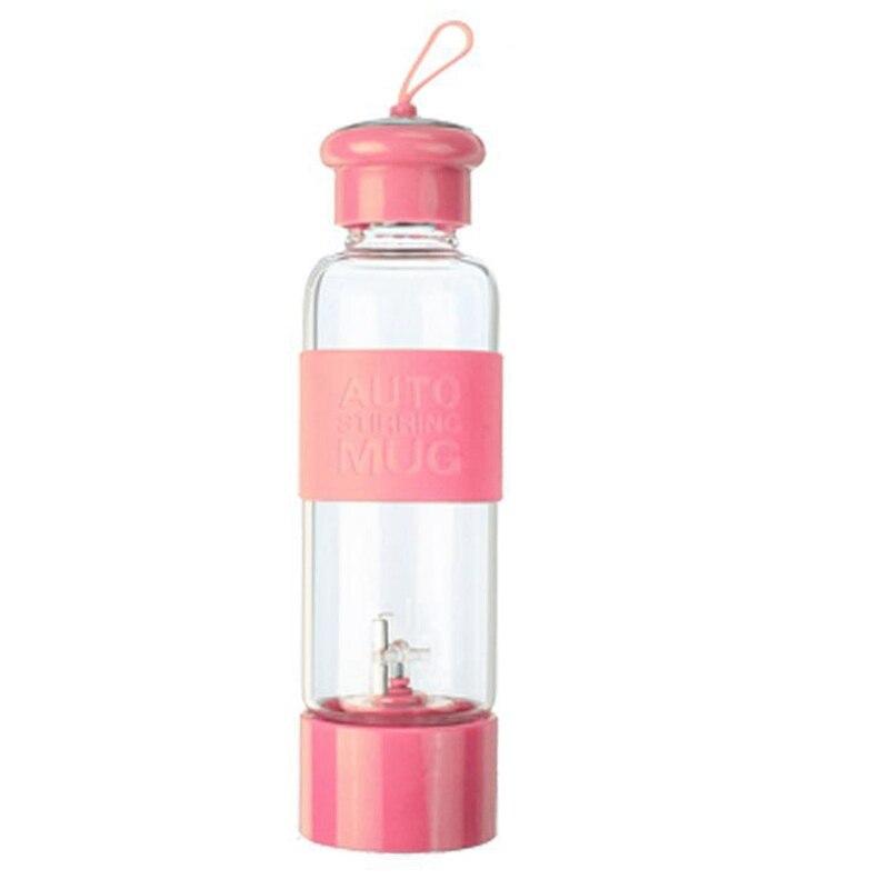 450Ml Portable Electric For Blender Juicer Cup Fruit Mixer Machine Smoothie Maker Bottle For Blender Glass Water Bottle
