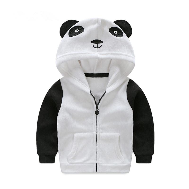 17b994553a7a Mudkingdom Boys Girls Animal Shaped Hooded Jackets Toddler Fleece ...