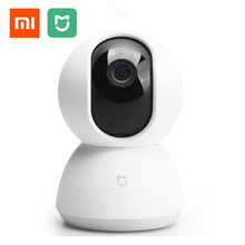Original Xiaomi Mijia Smart Camera IP Camera Camcorder 360 Angle Panoramic WIFI Wireless 720P Magic Zoom Night Vision