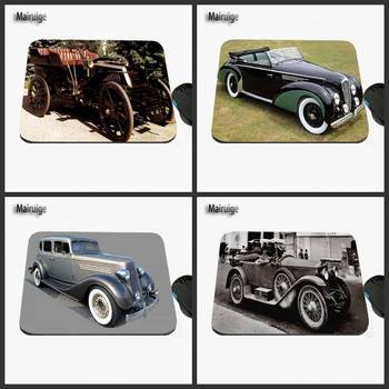Mairuige Luxury Antique Car Custom Printed Design Game Anti-slide Rectangular Rubber Notebook Computer Mouse Pad Table Mar image