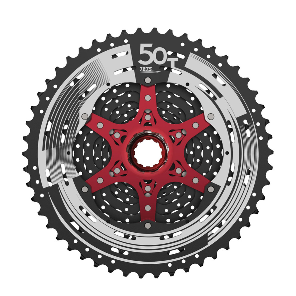 SUNRACE 12 Speed 11T 50T Cassette MTB CSMZ90 WA5 Wide Ratio Sprocket Fluid Drive Plus Mountain